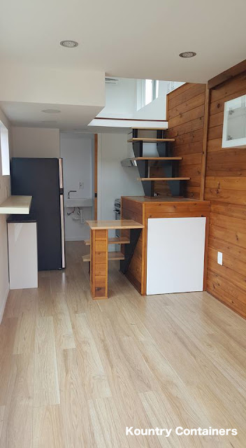 Tiny House Town Kountry Containers Loft Home