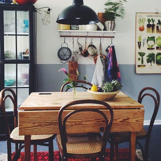 Small And Cozy Kitchen Ideias De Fim De Semana: Formosa Casa: Mesinhas Na Cozinha