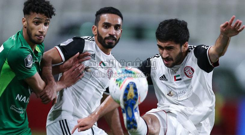 شباب الأهلي دبي والجزيرة