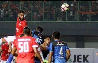 Persija Jakarta Kalah 0-1 dari Madura United di Stadion Patriot