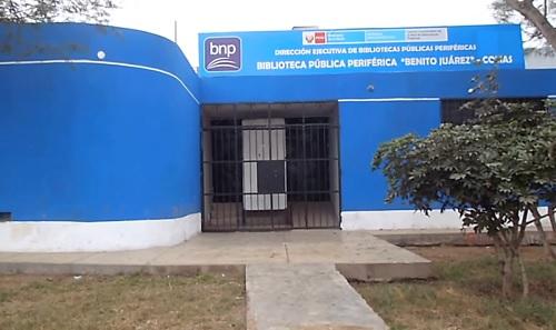 Biblioteca Pública Periférica Benito Juárez