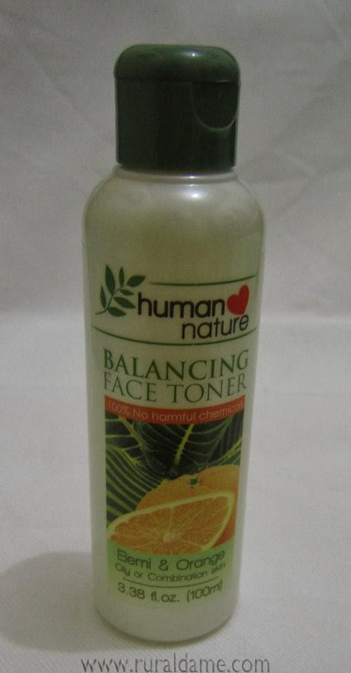 Human Nature Balancing Face Toner Review