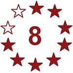 Deadpool: 8 von 10 Sterne