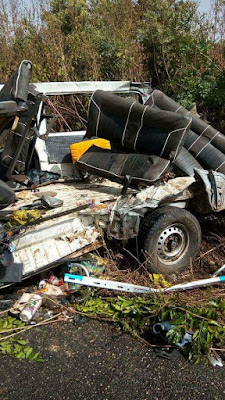 Graphic: Ghastly auto crash claims 22 lives including members of wedding party in Sokoto State
