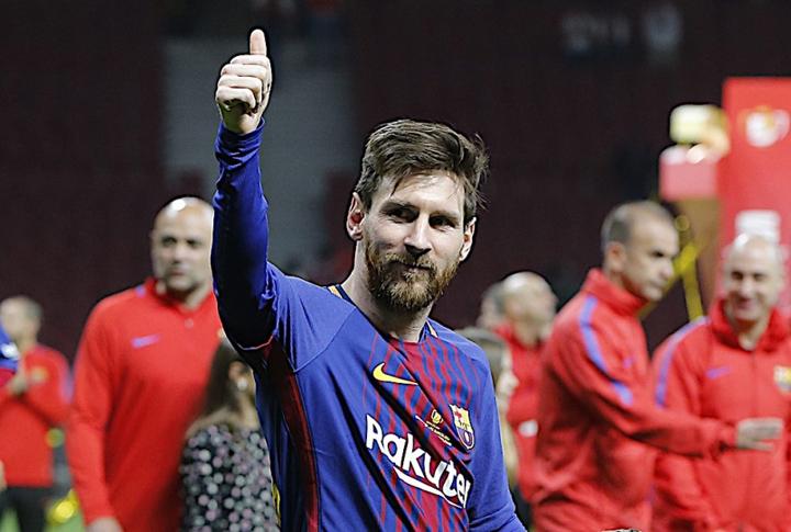 Gaji Lionel Messi RM119,073 Seminit
