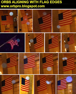 orbs near flags