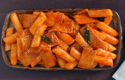 resep masakan, resep makanan, makanan korea, jajajnan pinggir jalan, camilan, pedas, kue, kue beras, fish cake