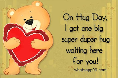 Hug day quotes messages in english