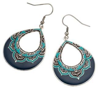 Moroccan Hoop Earring: $11.50
