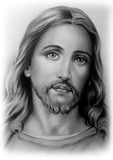 retrato realista de Jesus Cristo