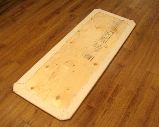 DIY quilters ironing board tutorial - detail 03