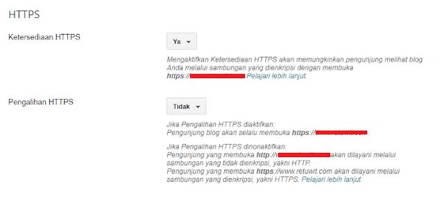 Cara Mengaktifkan Blogspot Custom Domain HTTPS, Biar Lebih Aman