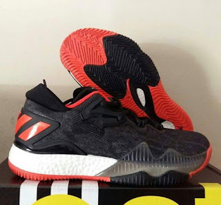 Sepatu Basket Adidas Crazy Light Boost 3 Black Red Murah < sepatu basket murah , sepatu basket premium