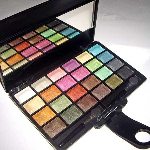 paleta de maquillaje sombras de ojos IDC color maquillaje diario