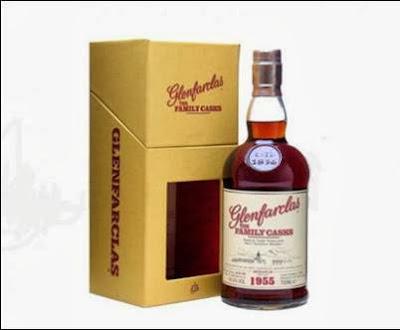 Glenfarclas whisky 1955