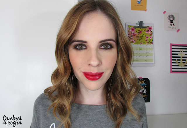 Love Lip Color, o batom tinta da DNA Italy | cor Love Red