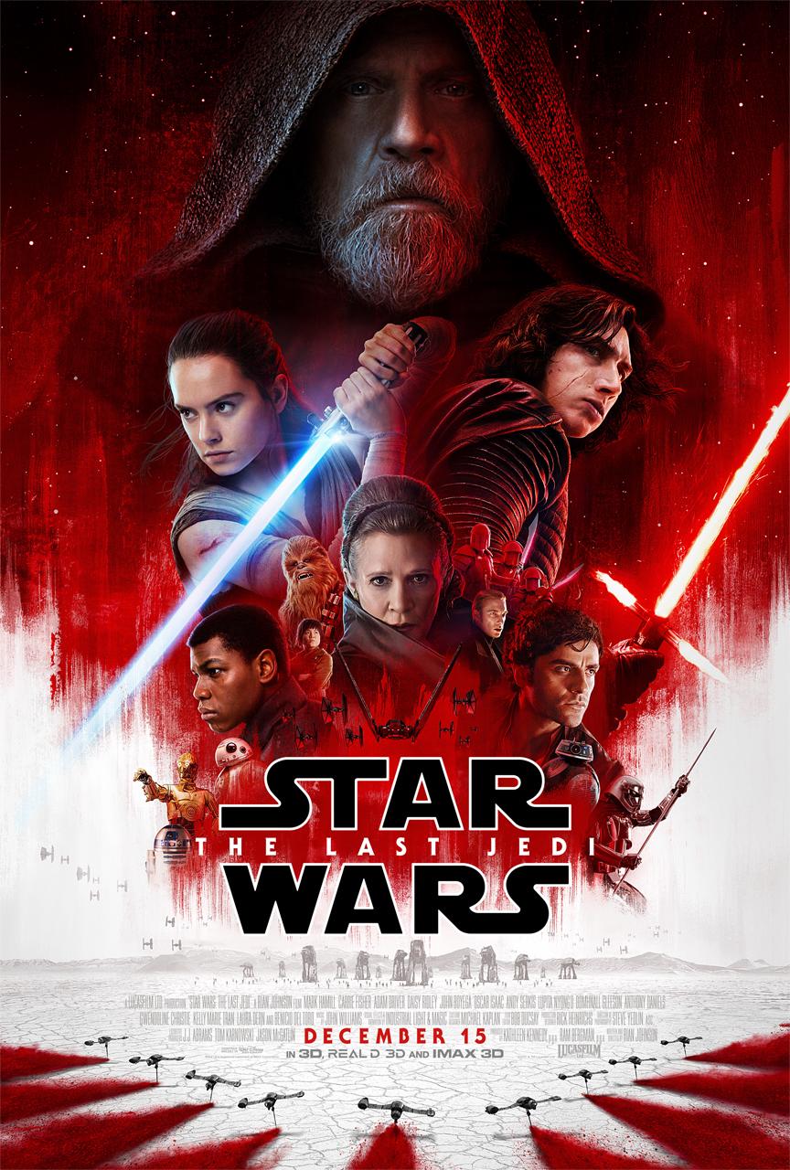 Star Wars The Last Jedi new poster November 2017
