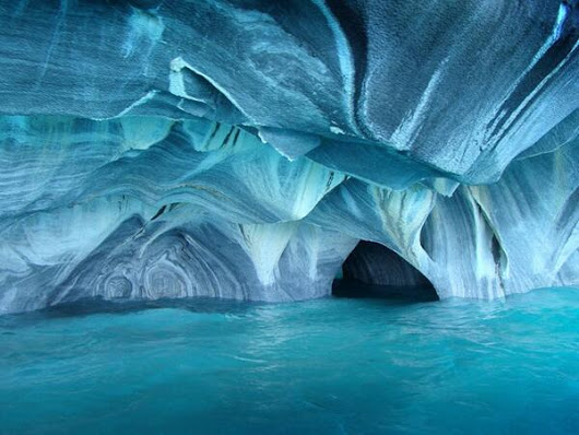 Marbles Caves Chile
