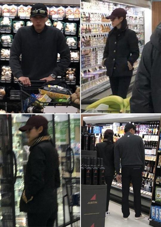Hyun Bin ve Son Ye Jin birlikte markette görüldüler, sevgili değiliz dediler