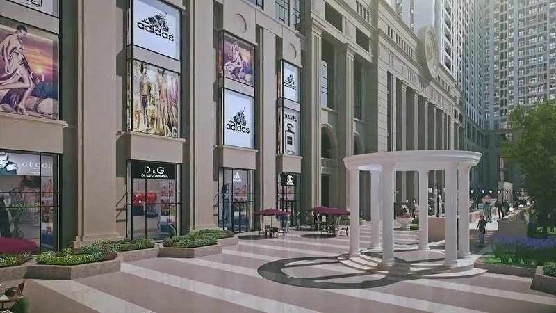 tiện ích dự án roman plaza