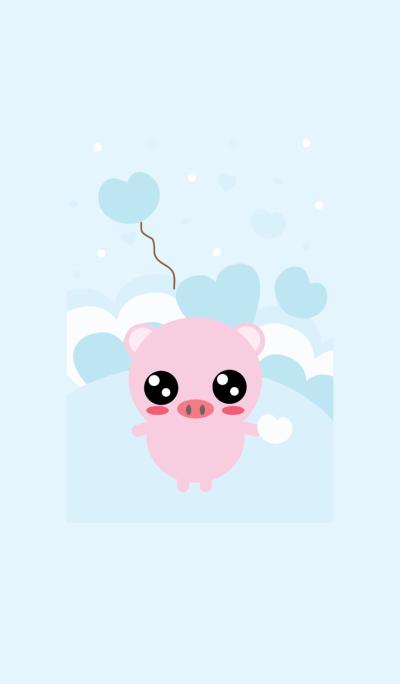 Cute pig theme v.5