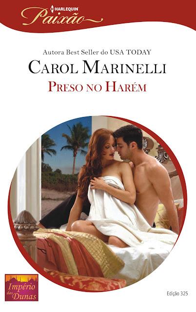 Preso no Harém Harlequin Paixão - ed.325 Carol Marinelli