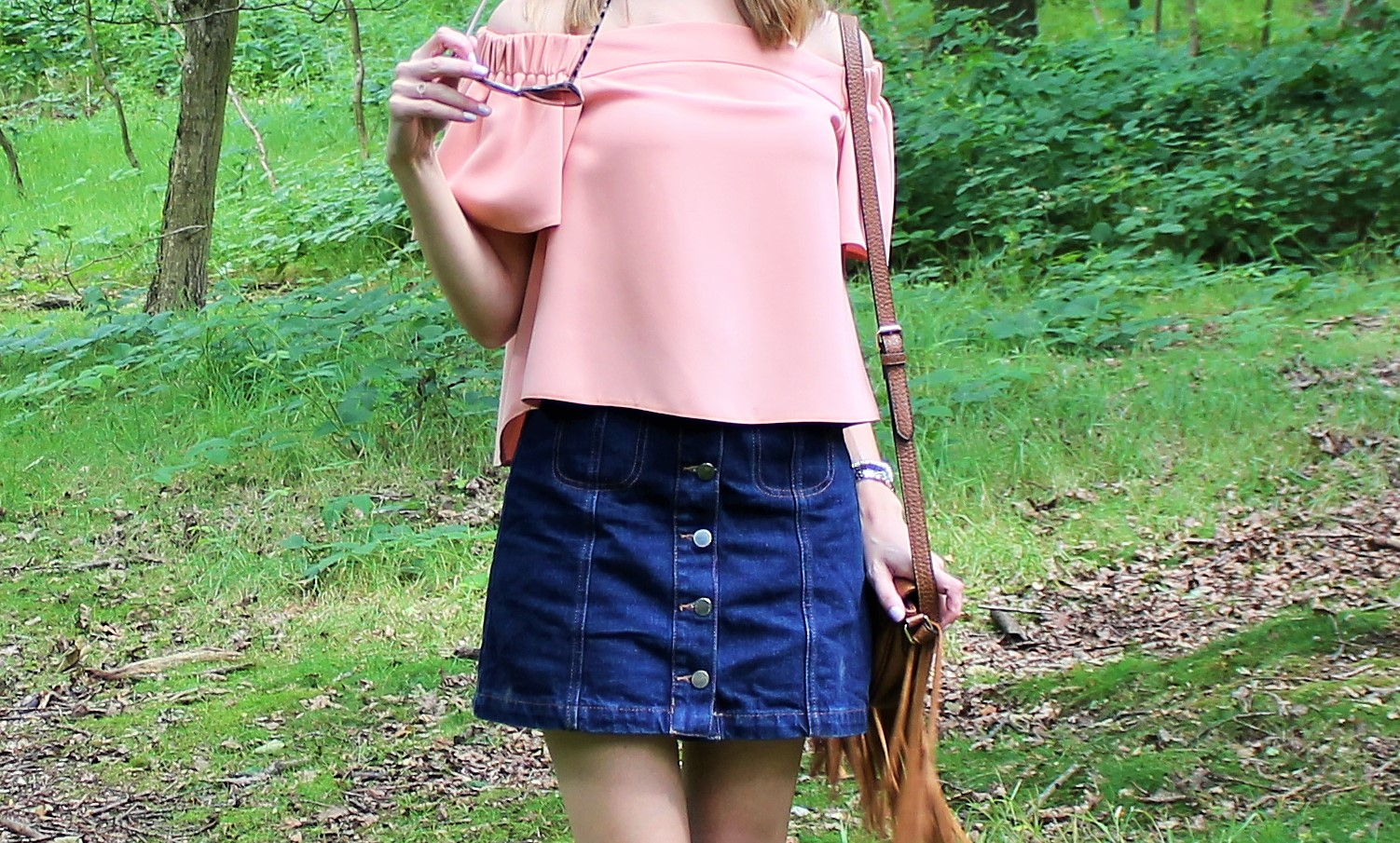 The Casual Bardot 2 - OOTD featuring Topshop off the shoulder top