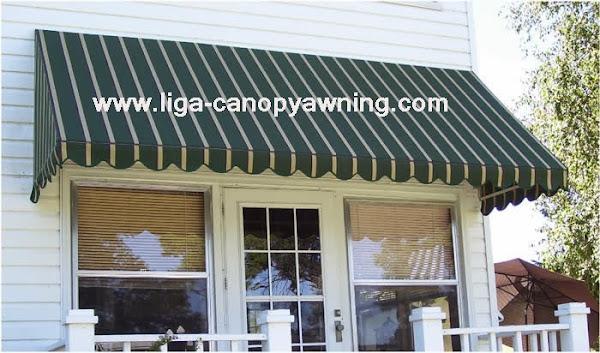 canopy kain minimalis dalam rumah
