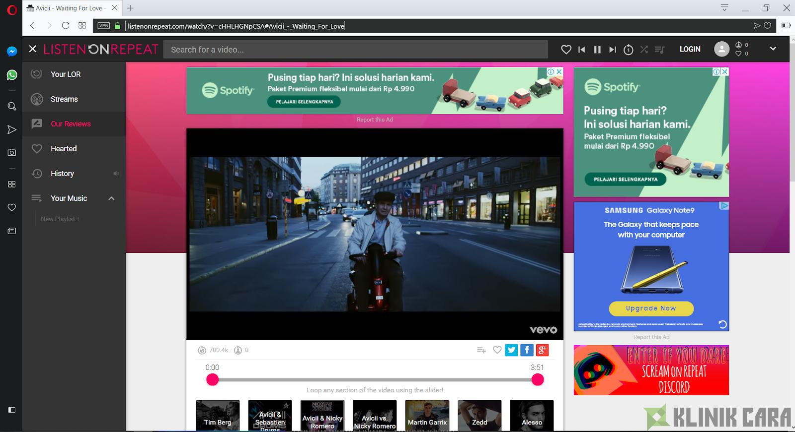 Cara Memutar Video YouTube Secara Berulang-Ulang