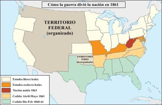 estados confederados de América