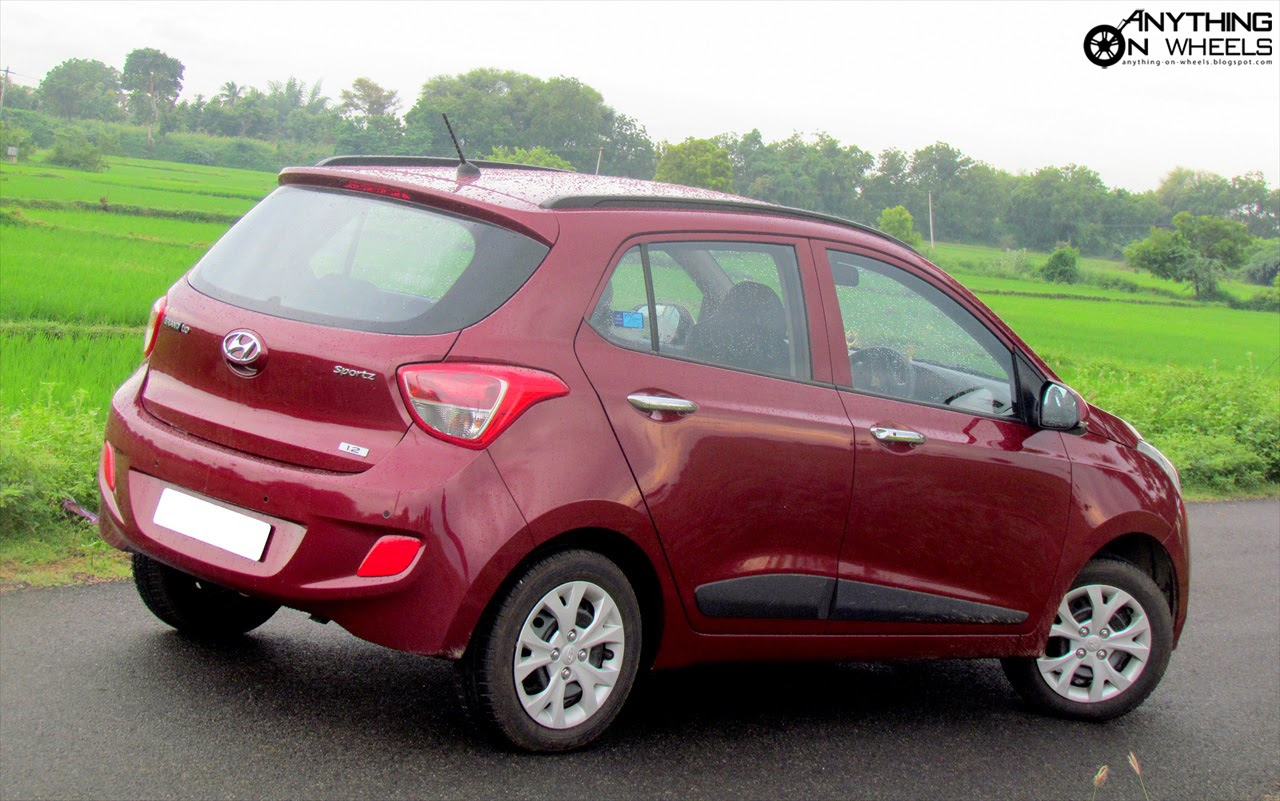 ANYTHING ON WHEELS: Driven #23: 2013 Hyundai Grand I10 Petrol