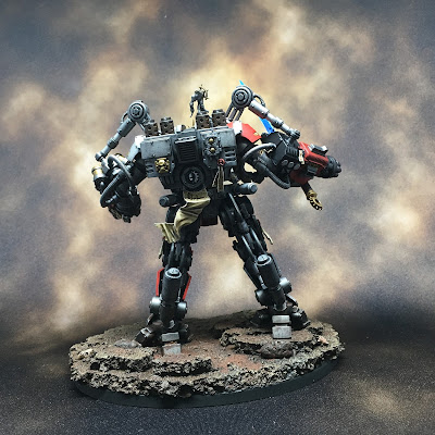 Grand Master in DreadKnight Armor final back