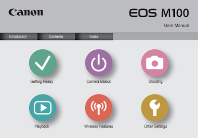 Download Canon EOS M100 Mirrorless Camera PDF User Guide / Manual