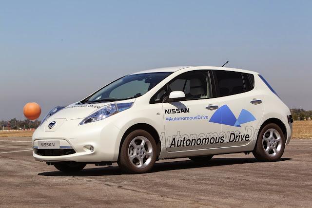 Nissan venderá para 2020 coche autónomos