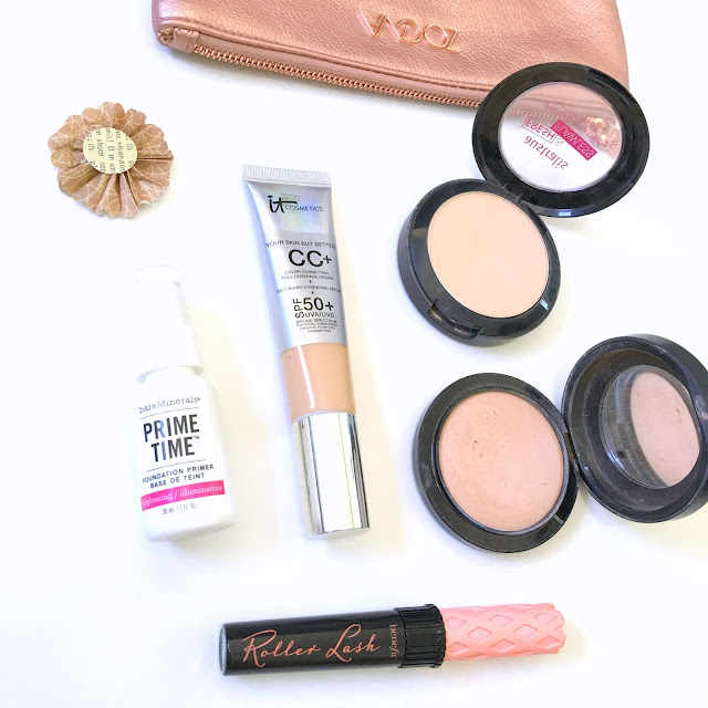 It Cosmetics CC Cream, Benefit Roller Lash Mascara