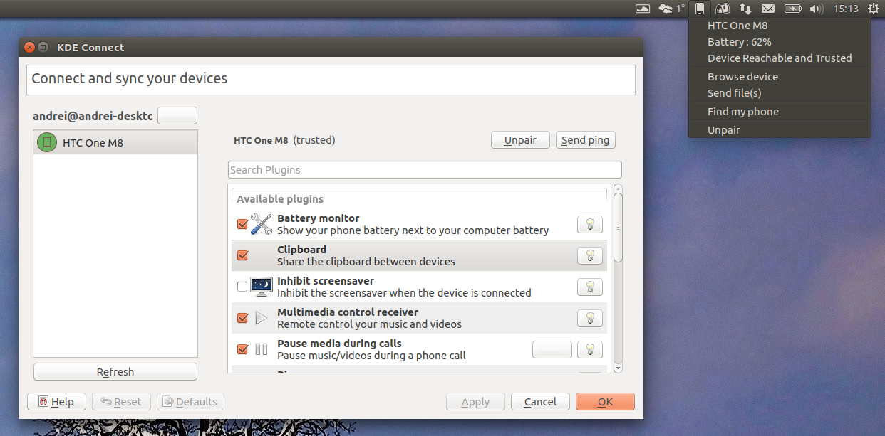 Integrate Your Android Device With Ubuntu Using KDE Connect