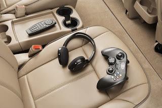 Foto videojuegos en el auto
