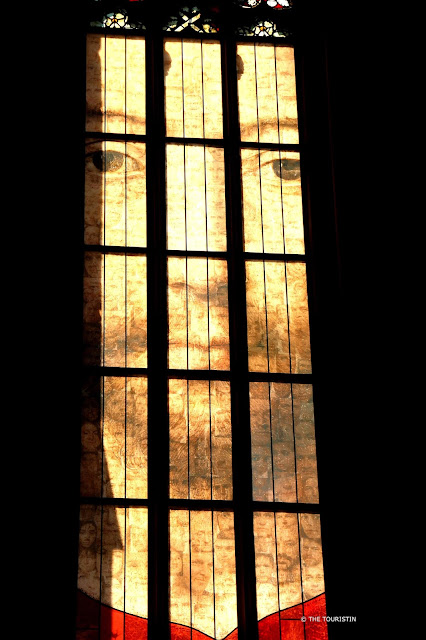 Cathédral Notre-Dame de Strasbourg. Detail of a window