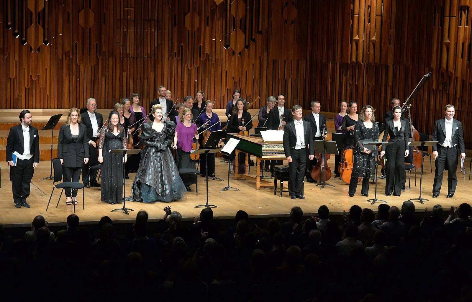Cast of Handel's Alcina - photo credit Mark Allan/Barbican