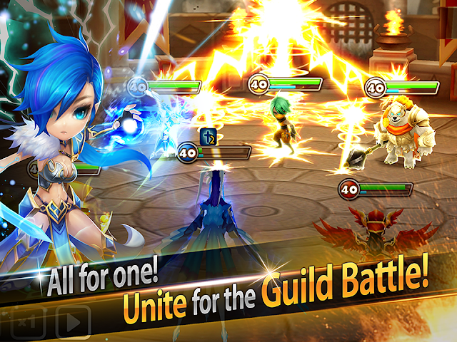 Download Summoners War Sky Arena Mod Apk Damage Increased God Mode v3.4.3 Update Terbaru