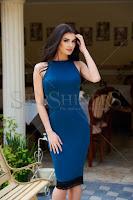 Rochie StarShinerS Sensual Look Turquoise (StarShinerS)