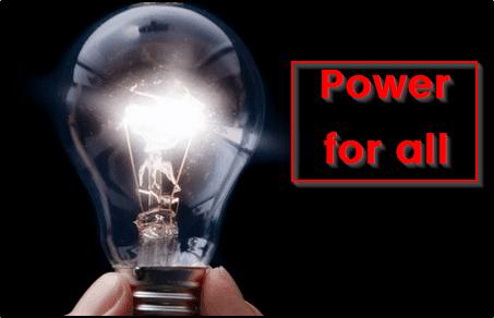 """बिजली योजना """"सौभाग्य"""" Power For All होगी 25 सितम्बर से शुरू"""
