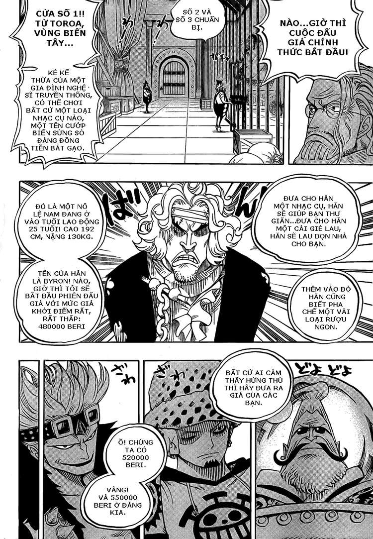 One Piece Chap 501