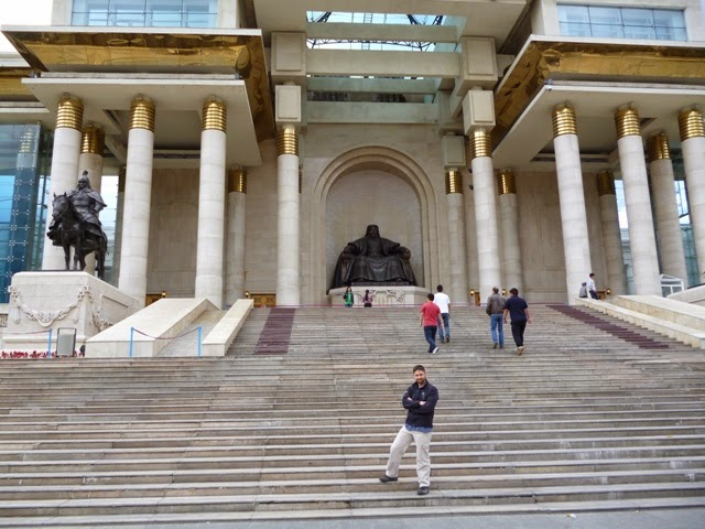 Estatua de Chinggis Khan