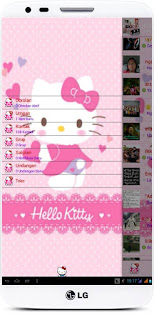 BBM MOD Hello Kitty Versi Terbaru 2.13.1.14 dan Versi Lama