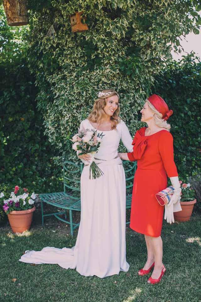 Vestidos largos madre novia