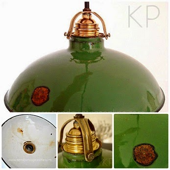 Tienda online de lamparas vintage industrial. Fotos de lamparas de techo estilo industrial. decoración y estilo