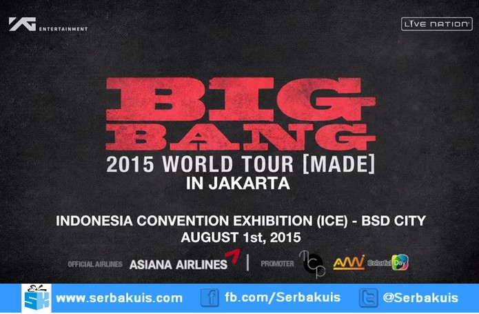Big Bang In Kuizone (Made Jakarta 2015)