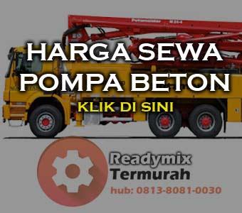 Harga Sewa Concrete Pump 2018