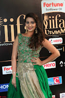 Manjusha in Beautiful Sleeveless Green Anarkali dress at IIFA Utsavam Awards 104.JPG